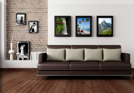 Decorating with fine art photography