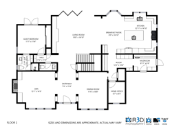 Schematic Floor Plans with your Matterport 3D Tour by R3D Photography