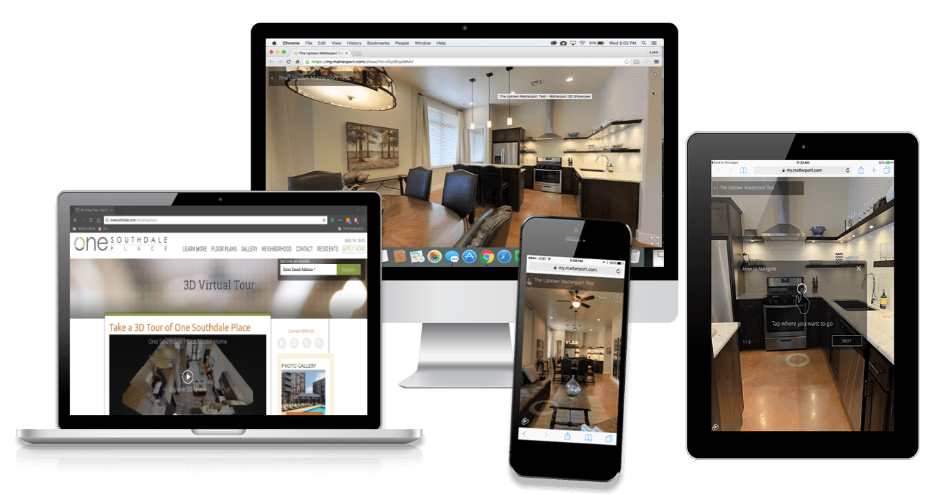 r3d matterport mobile devices